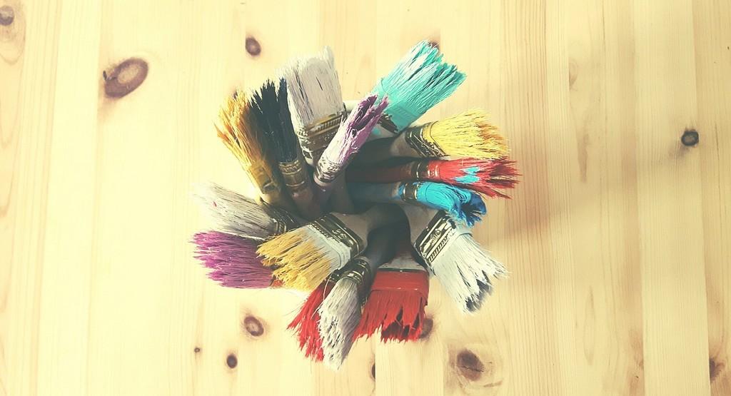 Papier, ciseaux, pinceaux : c'est parti !